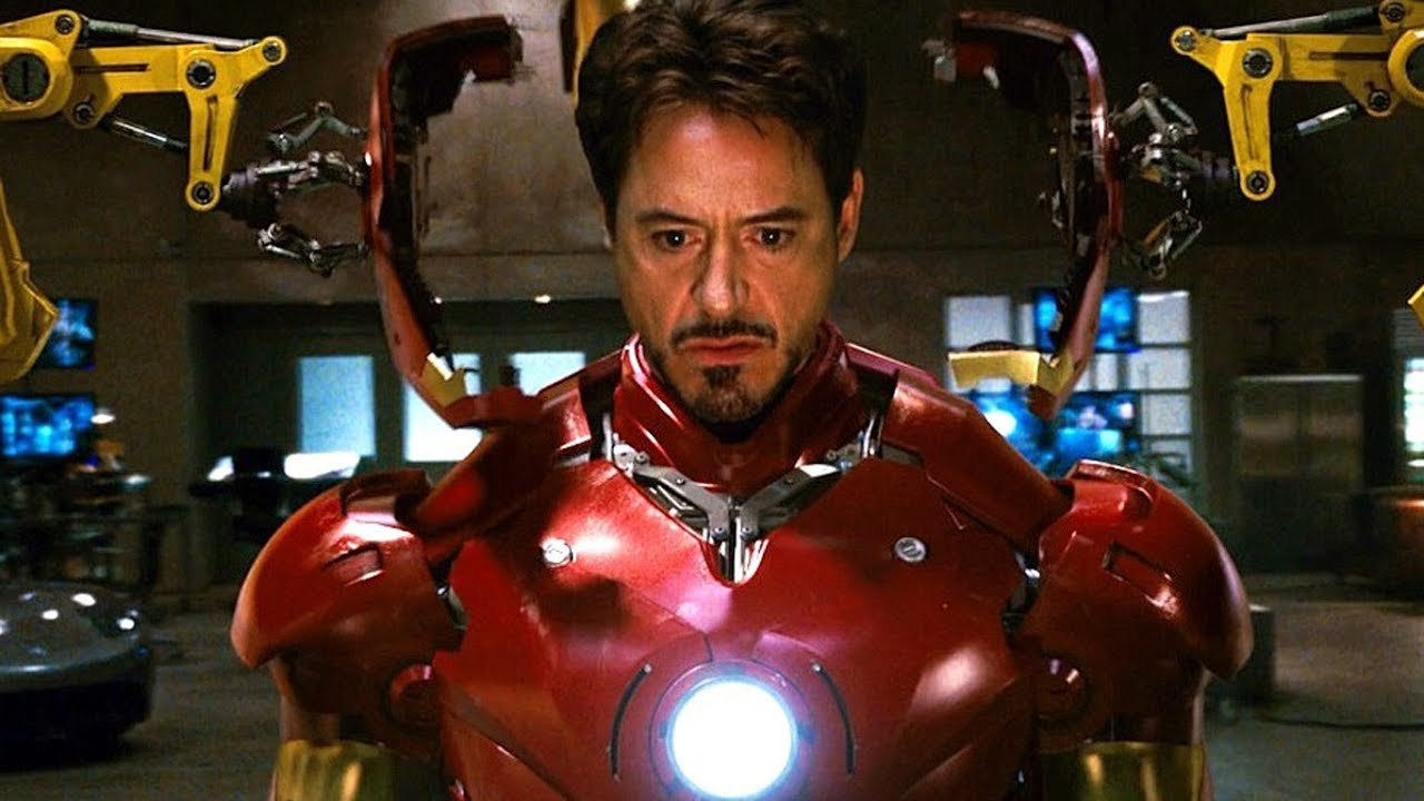 Iron Man Movie Elegant Iron Man Suit Up Scene Mark Iii Armor Movie Clip Hd   Top Iron Man Movie Backgrounds   WallpaperAccess 1280x720
