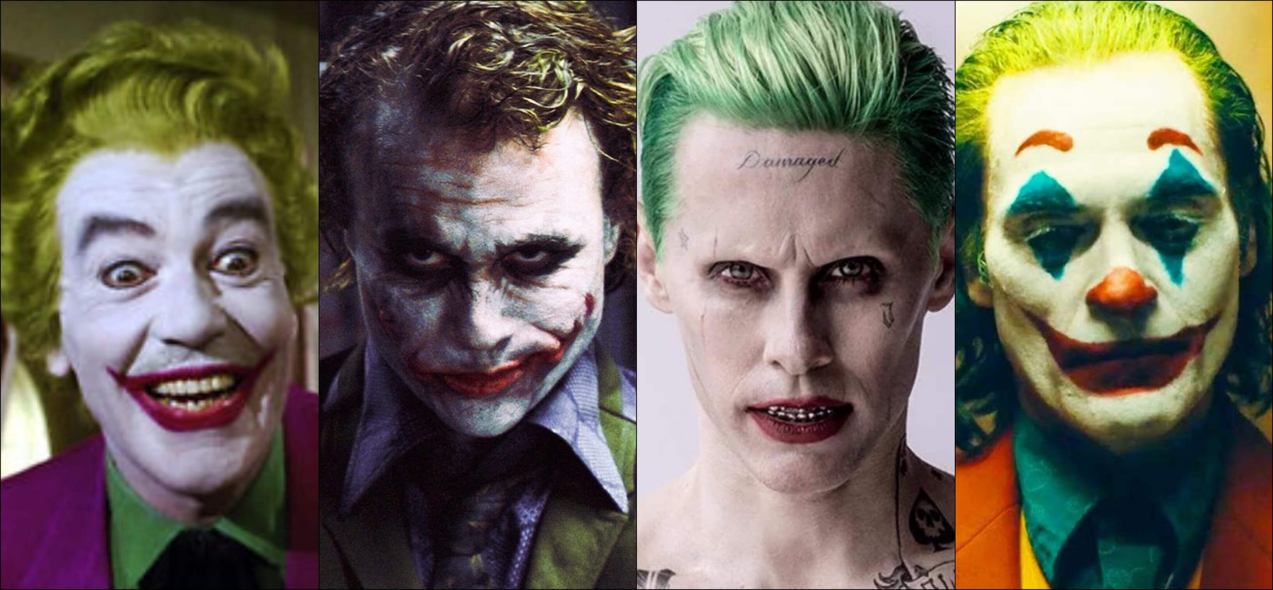 evolution of the joker 1966 2019