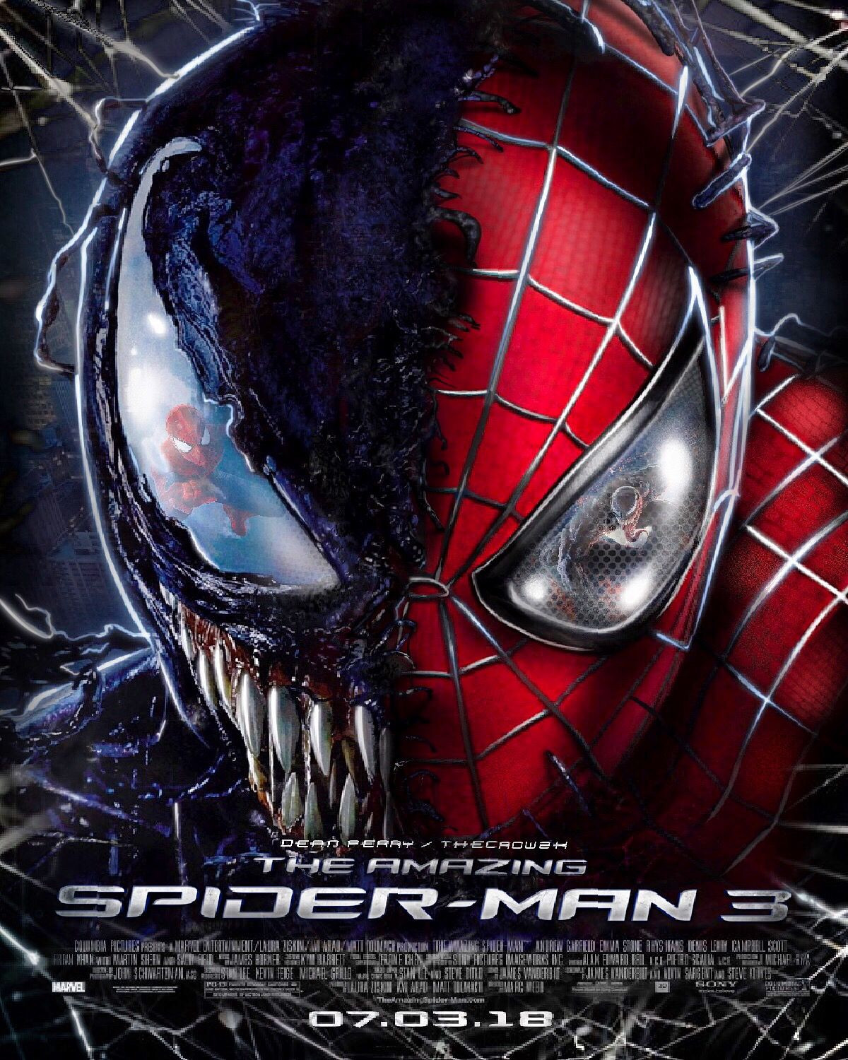 Spiderman 3 Awesome the Amazing Spider Man 3 Poster   Top Spiderman 3 Backgrounds   WallpaperAccess 1200x1500